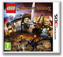 LEGO The Lord of the Rings pochette 3DS (ALAP)