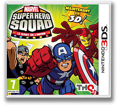 Marvel Super Hero Squad - The Infinity Gauntlet pochette 3DS (AMSP)