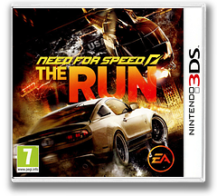 Need for Speed - The Run pochette 3DS (ANSP)