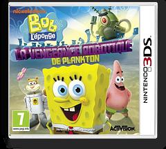 SpongeBob SquarePants - Plankton's Robotic Revenge pochette 3DS (ANXP)