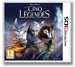 Rise of the Guardians pochette 3DS (ARGP)