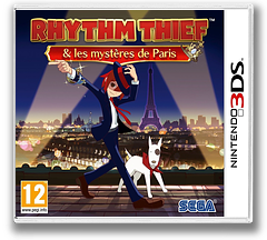 Rhythm Thief & the Emperor's Treasure pochette 3DS (ARTP)