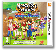 Harvest Moon: Skytree Village pochette 3DS (AVAP)