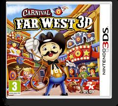 Carnival - Far West 3D pochette 3DS (AW2P)