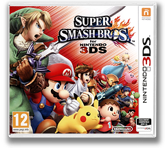 Super Smash Bros. for Nintendo 3DS pochette 3DS (AXCP)