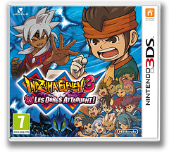 Inazuma Eleven 3 - Team Ogre Attacks! pochette 3DS (AXGP)