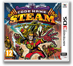 Code Name: S.T.E.A.M. pochette 3DS (AY6P)