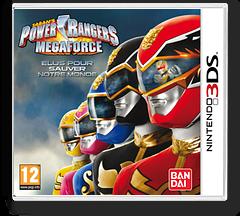 Power Rangers - Megaforce pochette 3DS (AZBP)
