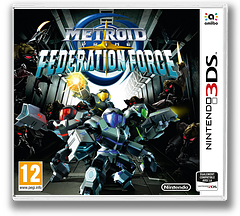 Metroid Prime: Federation Force pochette 3DS (BCAP)