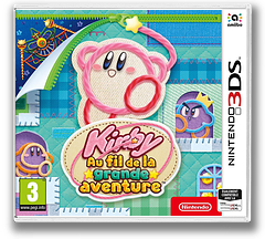 Kirby's Extra Epic Yarn pochette 3DS (BE4P)