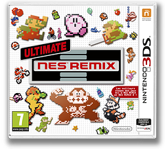 Ultimate NES Remix pochette 3DS (BFRP)