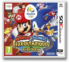 Mario & Sonic at the Rio 2016 Olympic Games pochette 3DS (BGXP)