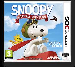 The Peanuts Movie - Snoopy's Grand Adventure pochette 3DS (BPEP)