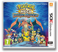 Pokémon Super Mystery Dungeon pochette 3DS (BPXP)