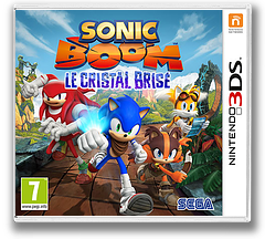 Sonic Boom - Shattered Crystal pochette 3DS (BSYP)