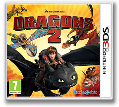 How to Train Your Dragon 2 pochette 3DS (BTDP)