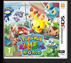 Pokémon Rumble World pochette 3DS (ECFP)