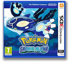 Pokémon Alpha Sapphire pochette 3DS (ECLA)