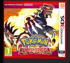 Pokémon Omega Ruby pochette 3DS (ECRA)