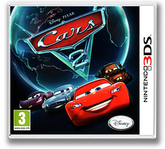 Cars 2 3DS cover (AAZP)