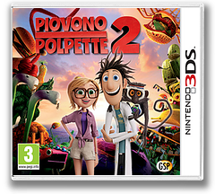 Cloudy with a Chance of Meatballs 2 3DS cover (AD5Z)