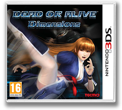 Dead or Alive - Dimensions 3DS cover (ADDP)