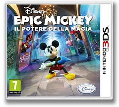 Disney Epic Mickey - Power of Illusion 3DS cover (AECP)