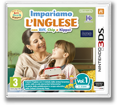 Impariamo L'inglese con Biff, Chip e Kipper Vol. 1 3DS cover (AFZP)