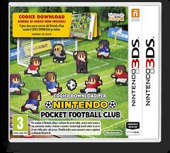 Nintendo Pocket Football Club 3DSWare cover (AHBP)
