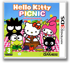 Hello Kitty Picnic with Sanrio Characters 3DS cover (AHLD)