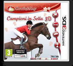 Campioni in Sella 3D 3DS cover (ARSP)