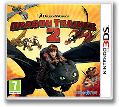 How to Train Your Dragon 2 3DS cover (BTDP)