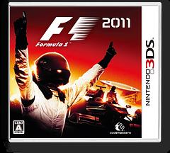 F1 2011 3DS cover (AF4J)