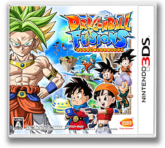 ドラゴンボールフュージョンズ 3DS cover (BDLJ)