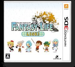 ファンタジーライフ LINK! 3DS cover (BLKJ)