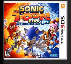 ソニックトゥーン ファイアー & アイス 3DS cover (BS6J)