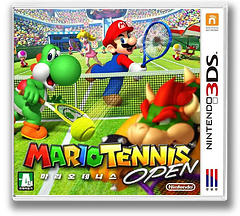 마리오 테니스 오픈 3DS cover (AGAK)