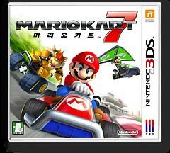 마리오 카트 7 3DS cover (AMKK)
