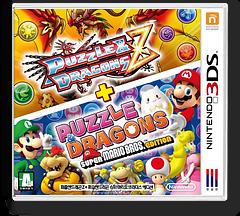 퍼즐앤드래곤 Z + 퍼즐앤드래곤 슈퍼 마리오브라더스 에디션 3DS cover (AZGK)