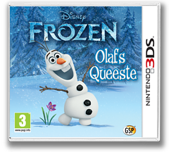 Disney Frozen - Olaf's Quest 3DS cover (AEHP)