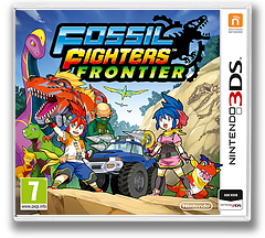 Fossil Fighters - Frontier 3DS cover (AHRP)