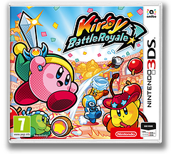 Kirby Battle Royale 3DS cover (AJ8P)