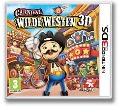 Carnival - Wilde Westen 3D 3DS cover (AW2P)