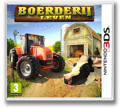 Boerderij Leven 3DS cover (BHFP)