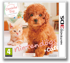 Nintendogs + Cats - Caniche Toy e Novos Amigos 3DS cover (ADCP)