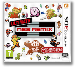 Ultimate NES Remix 3DS cover (BFRP)
