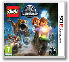 LEGO Jurassic World 3DS cover (BLJP)