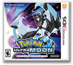 Pokémon Ultra Moon 3DS cover (A2BE)