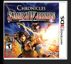 Samurai Warriors - Chronicles 3DS cover (A66E)