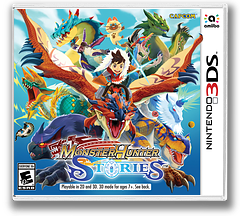 Monster Hunter Stories 3DS cover (AAHE)